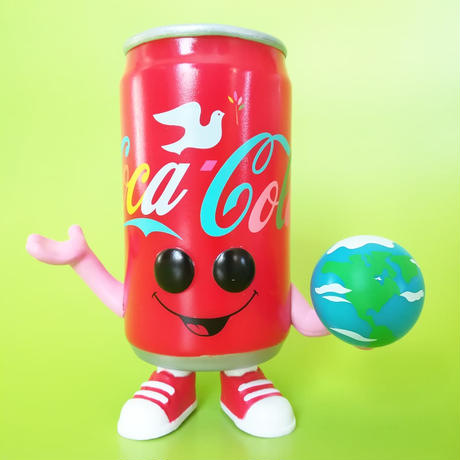 """ファンコ ポップ  コカ・コーラ 缶(世界中の人々に『コカ・コーラ』を買ってあげたい)Funko Pop!"""" I'd Like to Buy the World a Coke"""" CAN"""