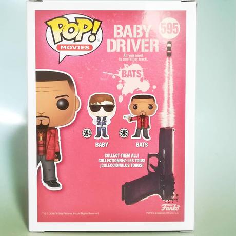 ファンコ ポップ 映画『ベイビー・ドライバー』  FUNKO POP!  Baby Driver  Bats