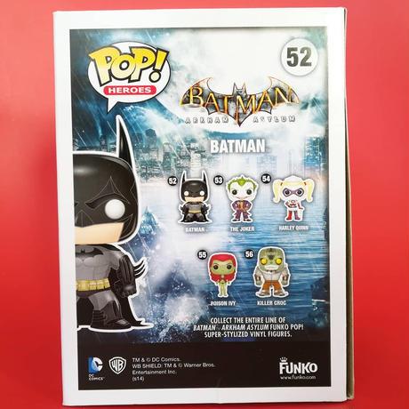 2015年 ファンコ  ポップ  バットマン アーカム・アサイラム(ブルー) Funko POP! Batman Arkham Asylum -( Blue)