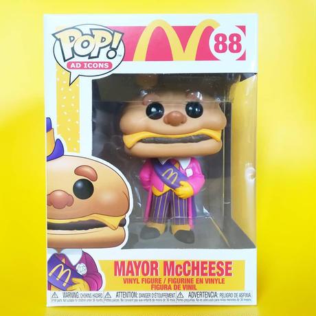 ファンコ ポップ 『マクドナルド』メイヤー・チーズマック  FUNKO POP!McDomald's Mayor McCheese