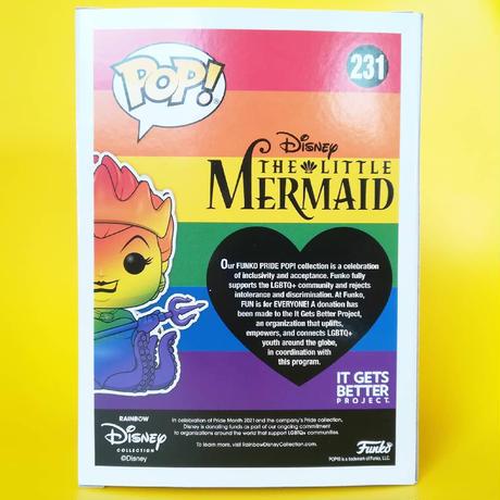 ファンコ ポップ 『リトル・マーメイド』アースラ【レインボー】(ダイアモンド)  FUNKO POP! The Little Mermaid URSULA  (Rainbow)Diamond