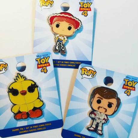 ファンコ ポップ トイストーリー4    ピンバッジ  Funko Pop!  Toy Story 4 Enamel Pin