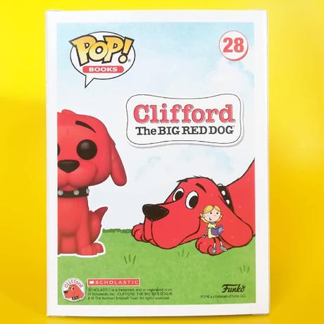 ファンコ ポップ 「 おおきいあかい クリフォード」(フロック版)  FUNKO   POP! Clifford (Flocked)