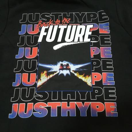 『バック・トゥ・ザ・フューチャー』 Hype製 メンズ パーカー  HYPE BACK TO THE FUTURE  MEN'S PULLOVER HOODIE