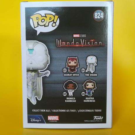 ファンコ ポップ マーベル『ワンダヴィジョン』ヴィジョン Funko Pop! Marvel: WandaVision - The Vision