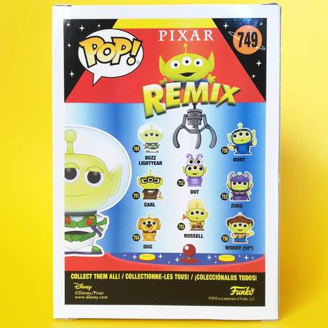 ファンコ ポップ トイストーリー エイリアン リミックス バズ・ライトイヤー FUNKO POP! TOY STORY ALIEN REMIX - Buzz Lightyear