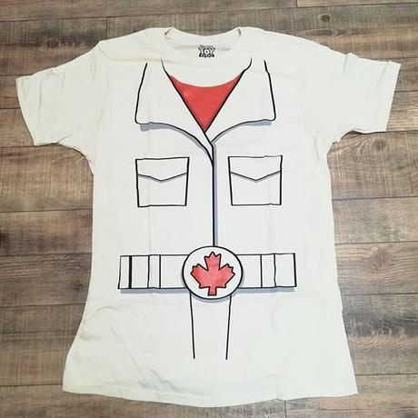 トイストーリー4  デューク・カブーン コスプレ Tシャツ【MENS】 TOY STORY Sid's Chop Shop  T-shirt