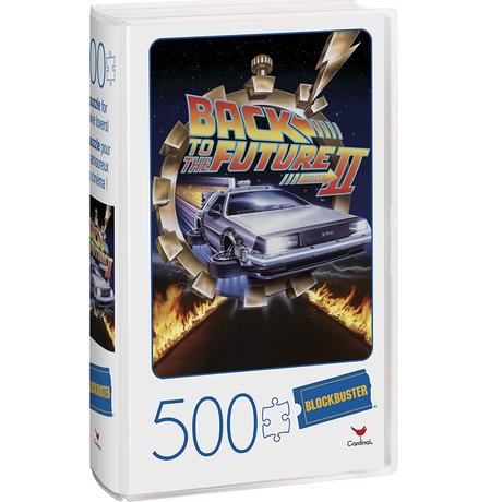 『バック・トゥ・ザ・フューチャー2』 VHSテープ型ケース入り 500ピース ジグソーパズル