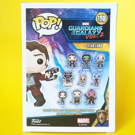 ファンコ ポップ ガーディアンズ・オブ・ギャラクシー・リミックス スター・ロード FUNKO POP! Guardians of The Galaxy Vol. 2  Star-Lord