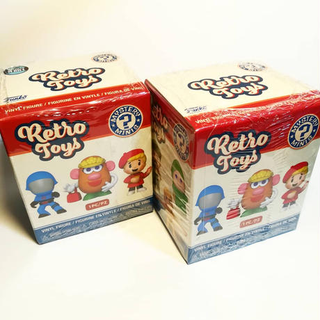 ファンコ  ミステリーミニ ハズブロ レトロトイズシリーズ【通常】Funko Mystery Minis Habro Retro Toys