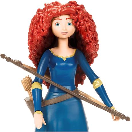 ピクサー「メリダとおそろしの森」メリダ アクションフィギュア Disney Pixar Brave Merida Action Figure
