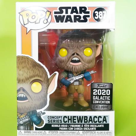 ファンコポップ  スターウォーズ コンベンション限定 コンセプト版 チューバッカ  2020 Funko Star Wars Galactic Convention  - CHEWBACCA