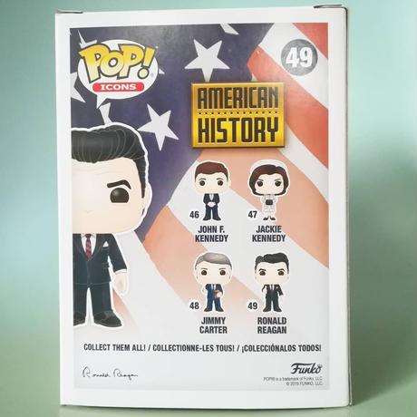 ファンコ ポップ 「アメリカンヒストリー」ロナルド・レーガン  FUNKO POP AMERICAN HISTORY  Ronald Reagan