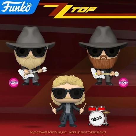 ファンコ ポップ 『ZZトップ』3体セット  FUNKO POP!   ZZ TOP   set of 3