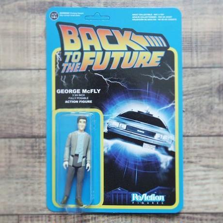 ファンコ  リ・アクション 『バック・トゥ・ザ・フューチャー』ジョージ・マクフライ Funko Re-Action Back To The Future  George McFly