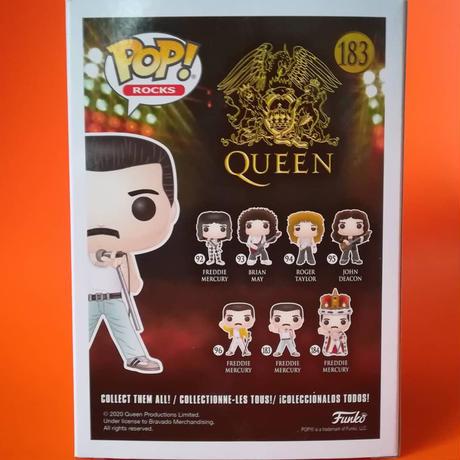 ファンコ ポップ 「クイーン」フレディ・マーキュリー(レディオ・ガガ)  Funko Pop! Rocks: Queen  Freddie Mercury - Radio Gaga