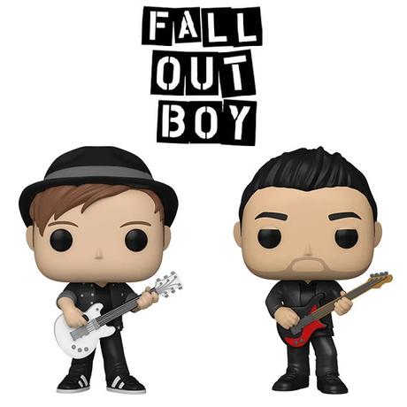 ファンコ ポップ  「フォールアウトボーイ」2体セット    Funko Pop! Rocks: FALL OUT BOY  set of 2