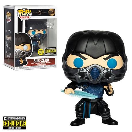 ファンコ ポップ  映画『モータルコンバット』サブゼロ(グロー版)   Funko Pop! Movies: Mortal Kombat - Sub-Zero  (GITD)
