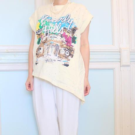 2wayパンチングTシャツ