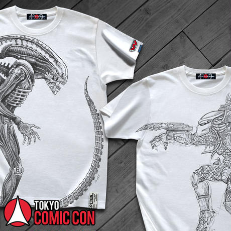 【映画エイリアン40周年】ALIEN THE PERFECT ORGANISM T-SHIRTS