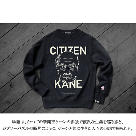 CITIZEN KANE -THE REBEL FACE- SWEAT SHIRTS