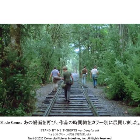 【受注生産限定品】映画『スタンド・バイ・ミー』×JETLINK20周年 T-SHIRT ver.Deep Forest