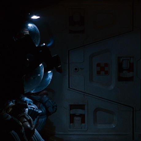 【受注生産限定品】映画エイリアン40周年 THE NOSTROMO CREW WORK T-SHIRT ver.Night Seeker