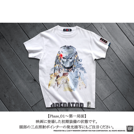 映画プレデター PREDATOR JUNGLE HUNTER T-SHIRTS Phase_02