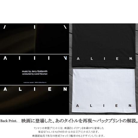 【1月31日受注終了】映画エイリアン40周年  THE PERFECT ORGANISM T-SHIRTS  ver.手刷りグリーン