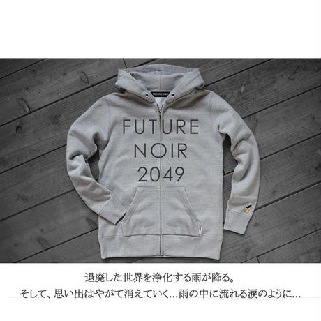 FUTURE NOIR 2049 ZIP SWEAT SHIRTS