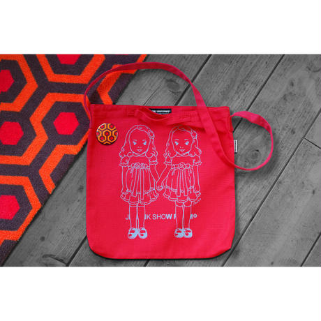 THE OVERLOOK TWINS SHOULDER BAG/RED
