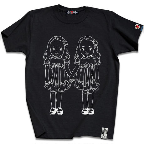 THE OVERLOOK TWINS T-SHIRTS/Sumi Black