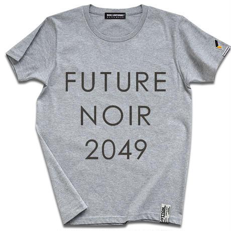 近未来SF映画の傑作『ブレードランナー』より FUTURE NOIR 2049 T-SHIRTS ver. Deckard after 30 years