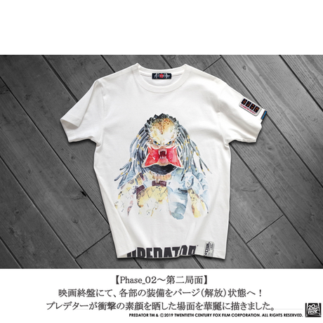 映画プレデター PREDATOR JUNGLE HUNTER T-SHIRTS Phase_01
