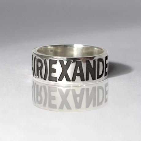 ALEXANDER Silver Jewel Ring(R)