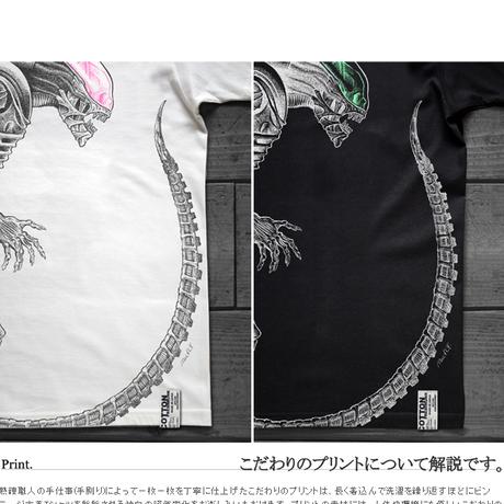 【受注生産限定品】映画エイリアン40周年 THE PERFECT ORGANISM T-SHIRTS ver.手刷りピンク