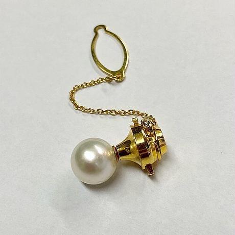 K18南洋真珠タイピン