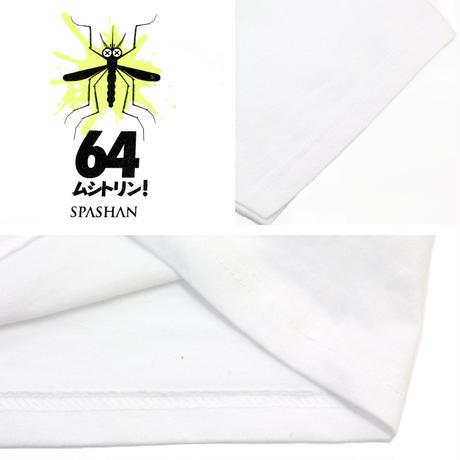 スパシャン SPASHAN ムシトリン 半袖 Tシャツ ホワイト