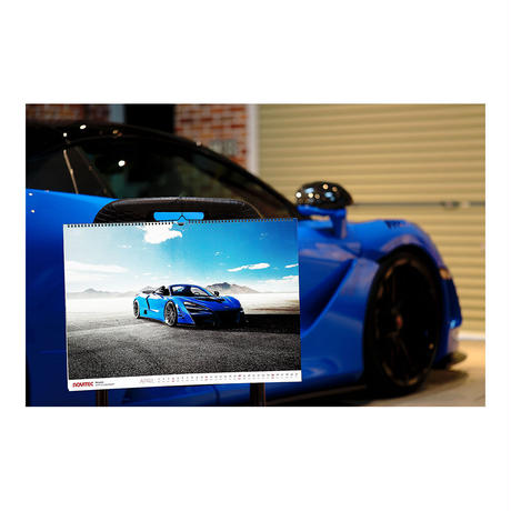 スパシャン SPASHAN NOVITEC壁掛けカレンダー 2021 スパシャン 車 スーパーカー 単品 スパコレ