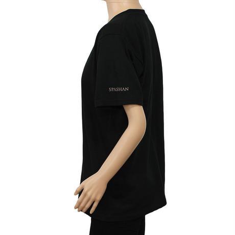 スパシャン SPASHAN SSS Tシャツ 半袖 ブラック
