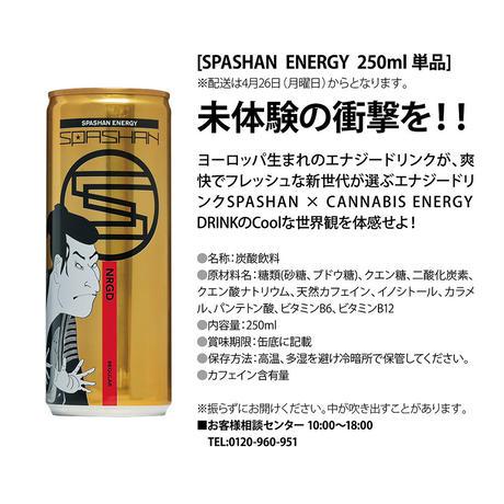 SPASHAN  ENERGY  250ml × 24本 1ケース スパシャンエナジー エナジードリンク