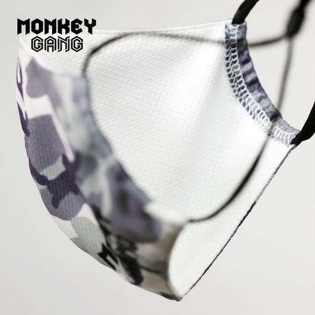 数量限定 MONKEY GANG メッシュマスク アジャスター付き マスク メッシュ加工 コロナ対策 カジュアル 夏物