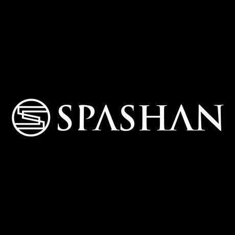【SPASHAN】Sロゴ+文字ステッカー