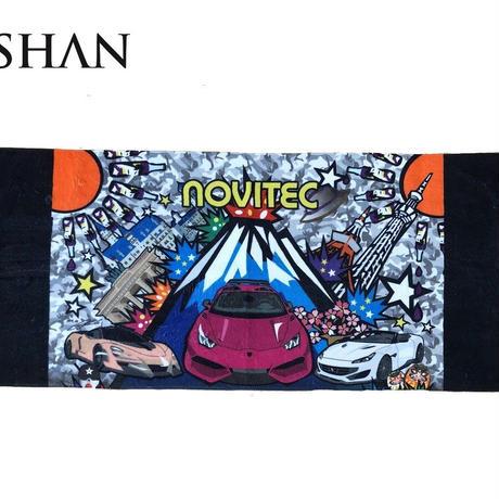 スパシャン SPASHAN NOVITECオリジナル限定タオル ベロア風生地で肌触り&吸水性抜群!!