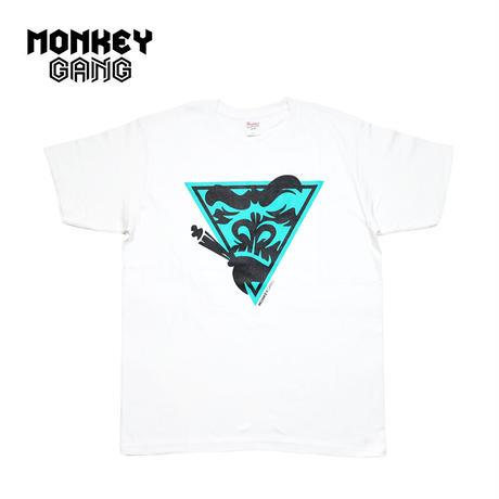 MONKEY GANG スペースモンキー デザイン Tシャツ ホワイト M~XXL アパレル メンズ レディース