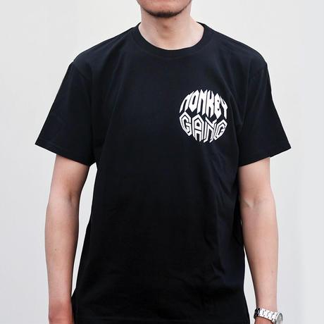MONKEY GANG ホワイトプラネット Tシャツ ブラック M~XXL アパレル メンズ レディース