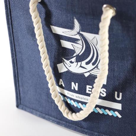 カネス商店 麻バッグ Marlinデザイン防水加工 ロープハンドル ユニセックス