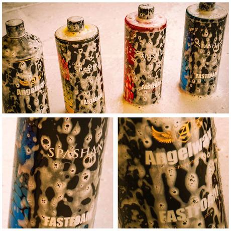 スパシャン SPASHAN エンジェルワックス ANGELWAX バブルガム(黄:香り付き)ファストフォーム FASTFOAM カーシャンプー 洗剤 1000ml 1L