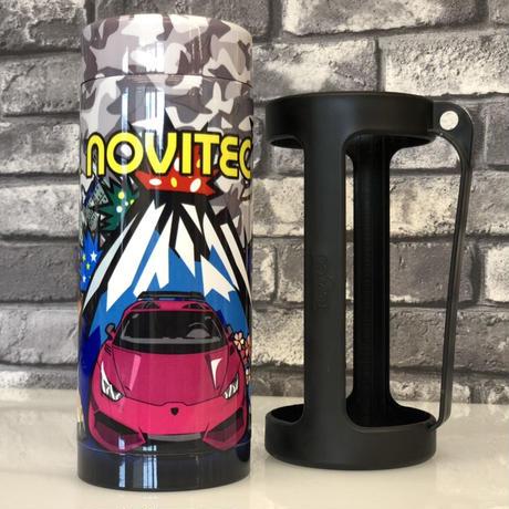 スパシャン SPASHAN STAY COOL NOVITEC 限定デザイン ステンレスボトルクーラー 順次発送
