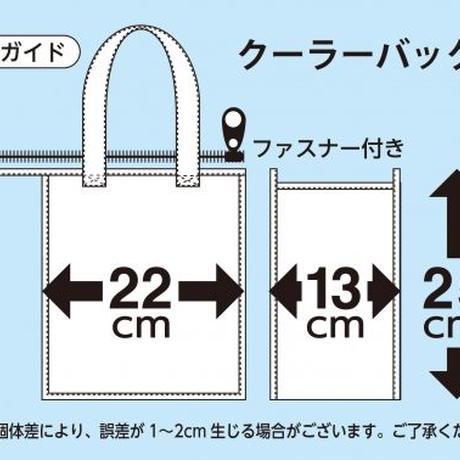 クーラーバック 『富士山・鹿・ワニ』(レギュラーサイズ約22x 13x 25センチ) 裏面は カエル! eltg-012